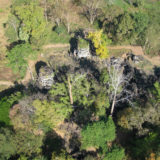 Aerial View of Preah Khan of Kompong Svay