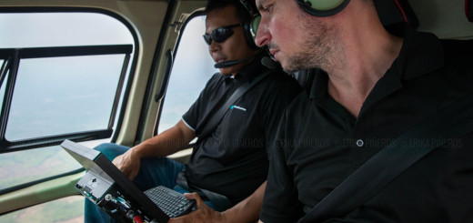 JB from the ADF team in flights over the Kulen block