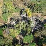 Aerial View of Preah Khan of Kompong Svay